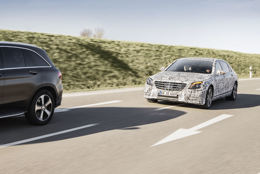 Vernieuwing Mercedes Benz S Klasse Volgende Stap In Autonoom Rijden