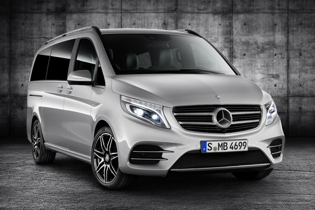 Amg Line Mercedes Benz V Klasse Nu Verkrijgbaar Autonieuws