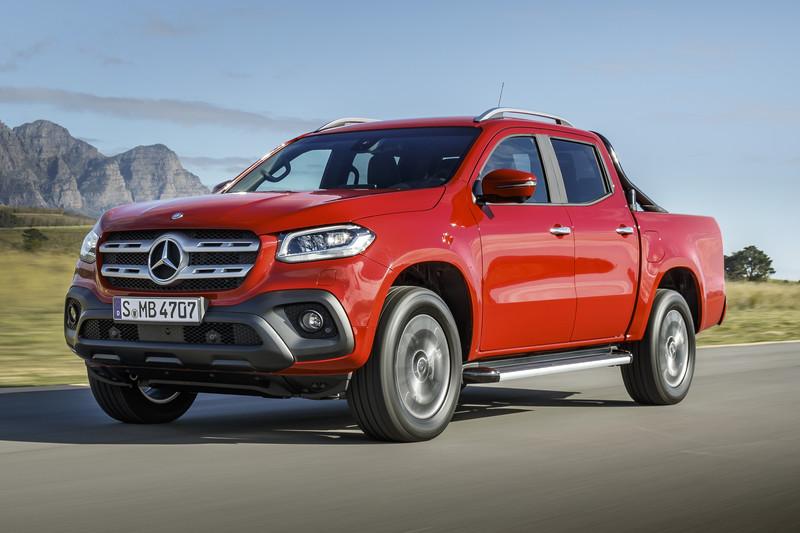 Ook Mercedes-Benz aan de pick-up: hier is de X-Klasse ...