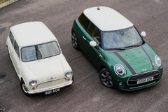 Mini Classic 1959 en 2019 - driedeurs Cooper 60 Years Edition