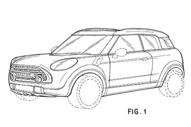Patenttekeningen Mini Suv Uitgelekt Autonieuws