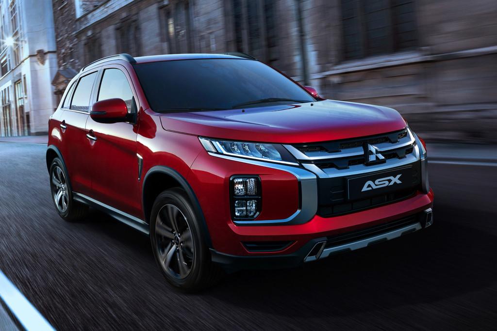 Mitsubishi ASX opnieuw opgewaardeerd