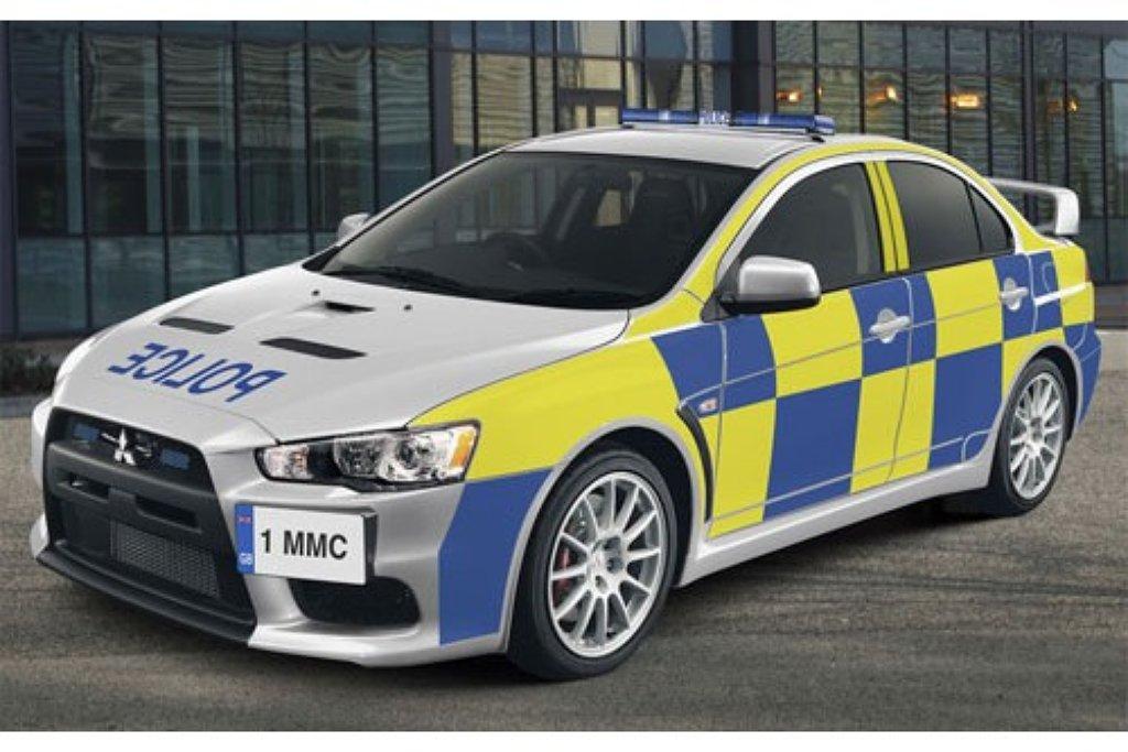 Engelse Politie Neemt Mitsubishi Evo X In Gebruik Autonieuws