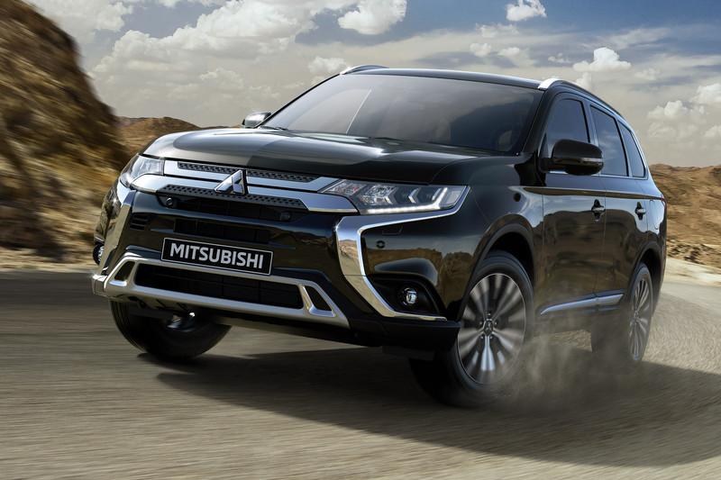 Mitsubishi Outlander Limited en Limited+