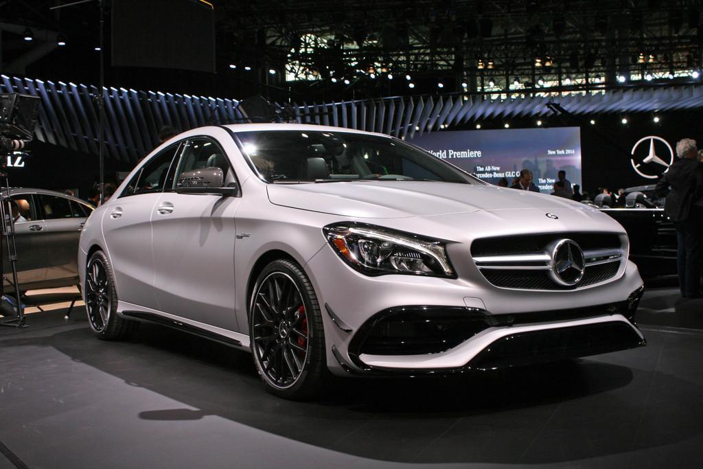 Mercedes benz cla kleine aanpassingen maken genoeg for Mercedes benz new york ny