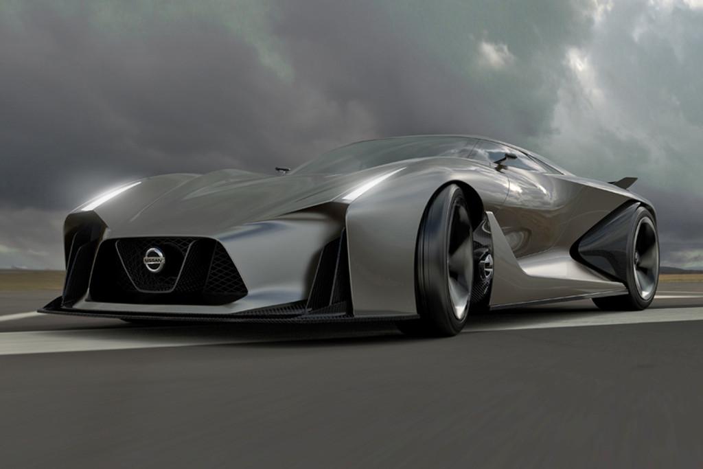 Mysterieuze Concept Car Nissan Blijkt Virtuele Raceauto Update