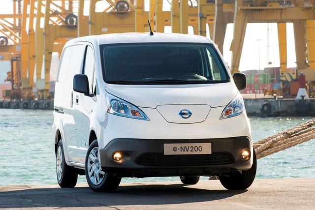 Nissan Maakt Prijs Elektrische Bestelauto E Nv200 Bekend