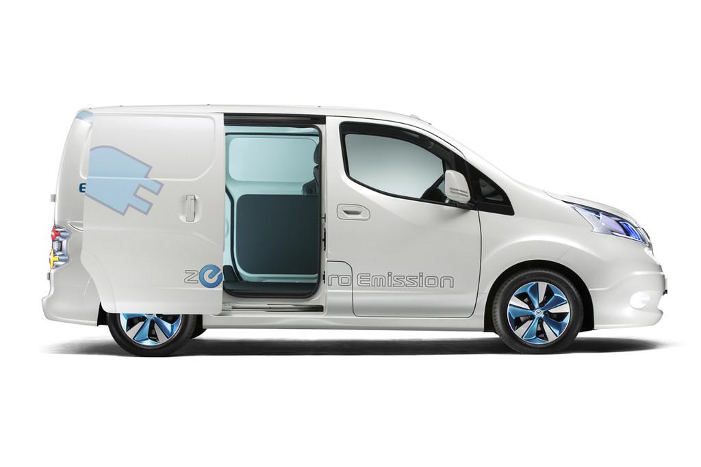 Nissan E Nv200 Klaar Ook Als Mpv Combi Of Evalia Autonieuws