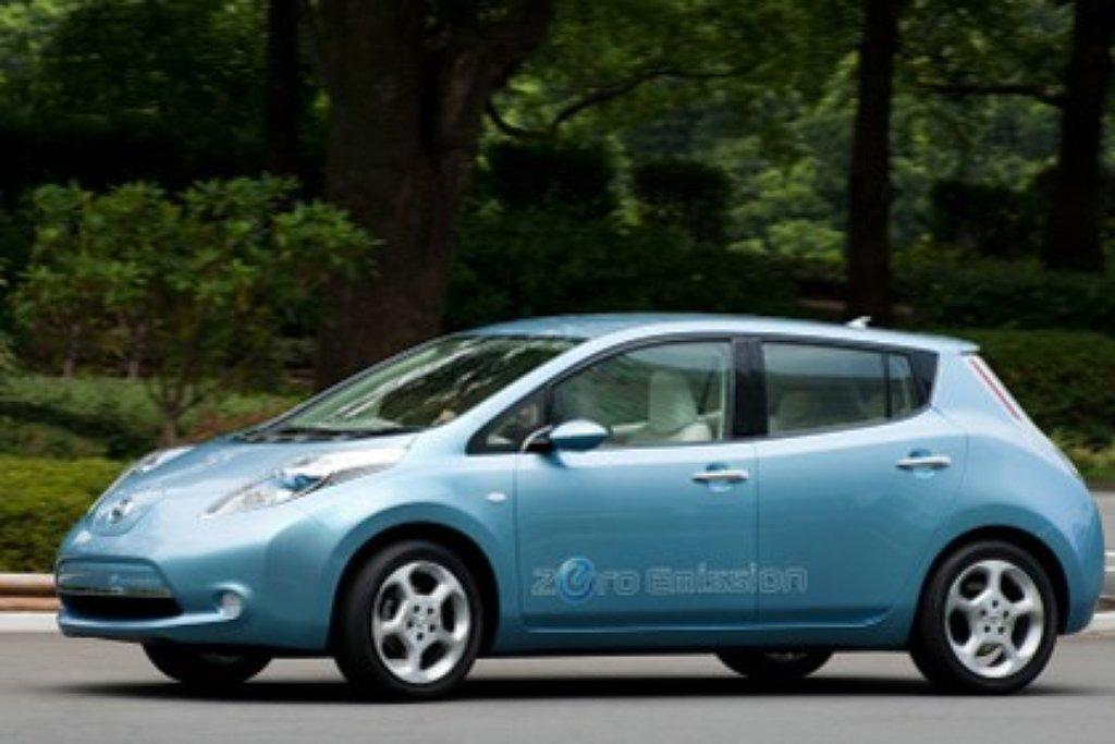Nissan Leaf Eerste Normale Elektrische Auto Autonieuws