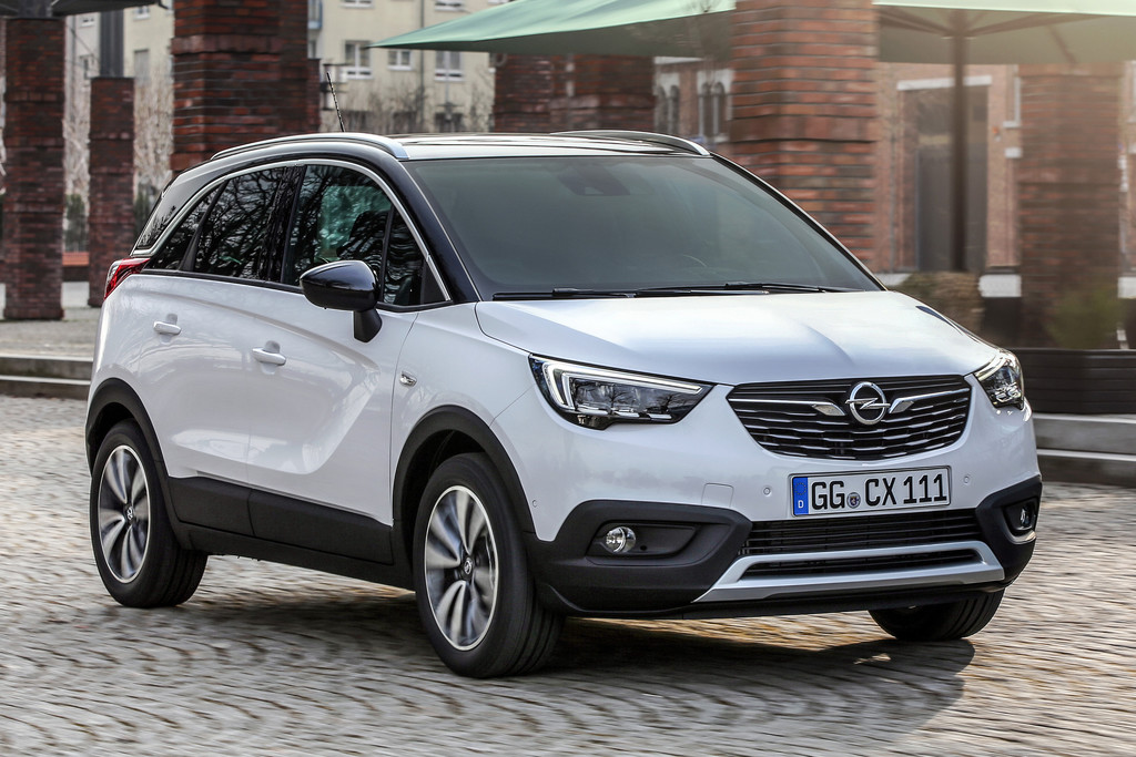 opel crossland x vanaf euro autonieuws. Black Bedroom Furniture Sets. Home Design Ideas