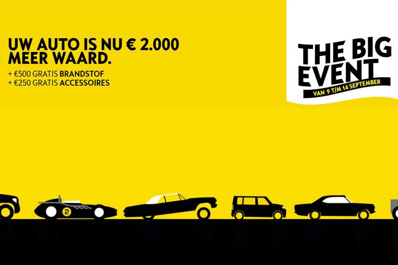 Opel The Big Event: extra inruilwaarde, gratis brandstof en gratis accessoires