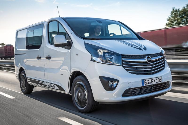 Opel Vivaro Sport dicht gat bedrijfwagens en