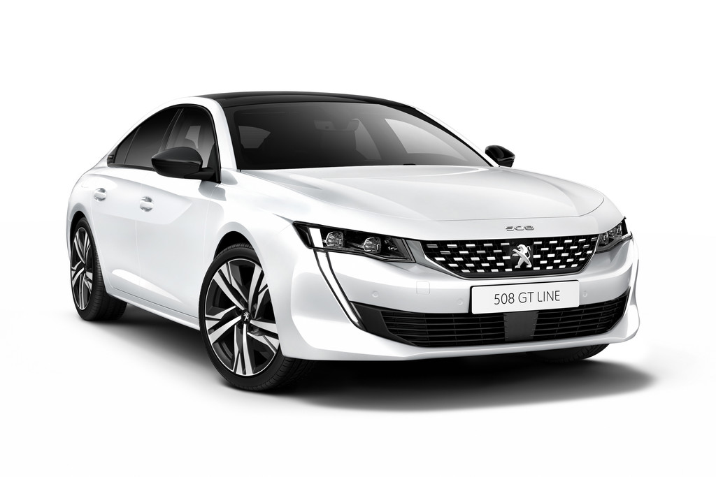 nieuwe peugeot 508 sportiever en compacter autonieuws. Black Bedroom Furniture Sets. Home Design Ideas