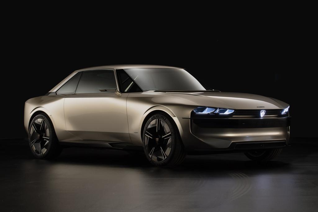 Nieuws Peugeot E Legend Is Ode Aan 504 Coupe Autokopen Nl