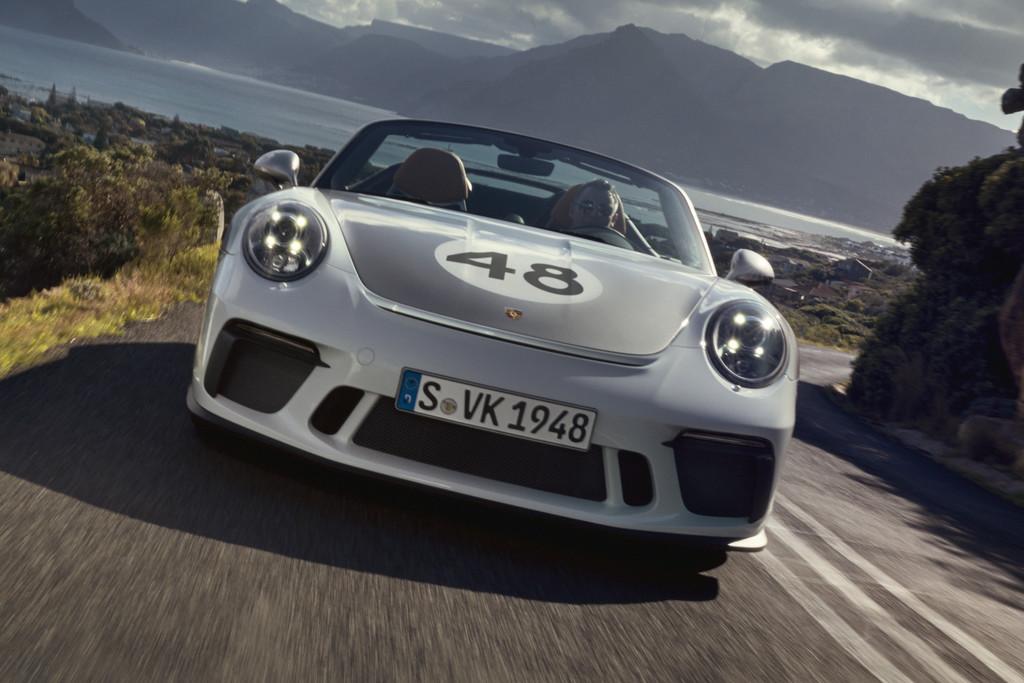 Porsche kleedt 911 Speedster aan met Heritage Design-pakket