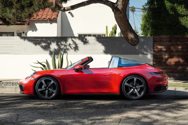 Porsche 911 Targa is dé zomerauto