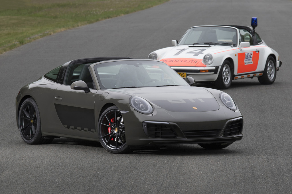 Speciale 911 Targa Als Eerbetoon Aan Politie Porsche Autonieuws
