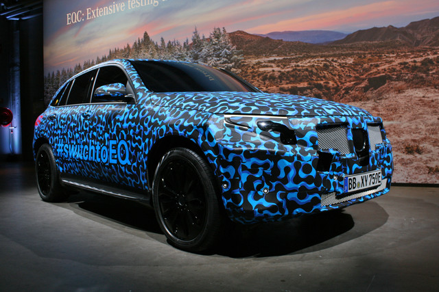 Prototype Mercedes-Benz EQC