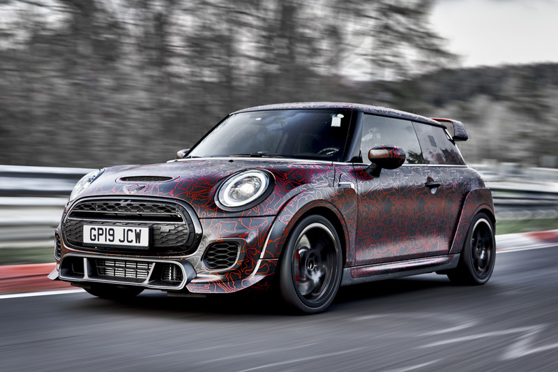 Mini John Cooper Works GP: meer dan 300 pk