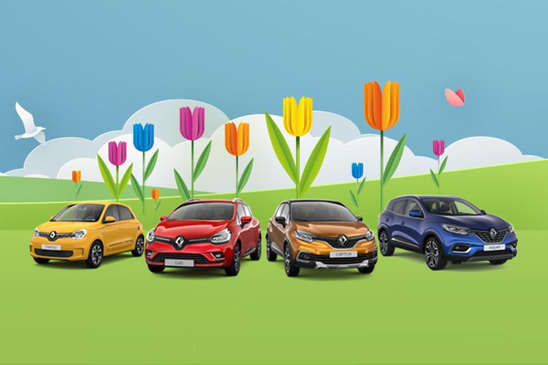 Renault Easy Life Voordeel tot 2.800 euro