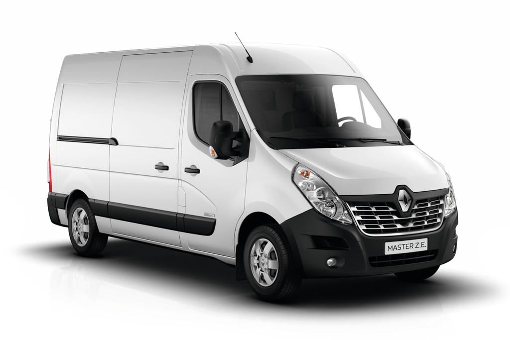 Elektropower Voor Grootste Bestelbus Renault Master Z E