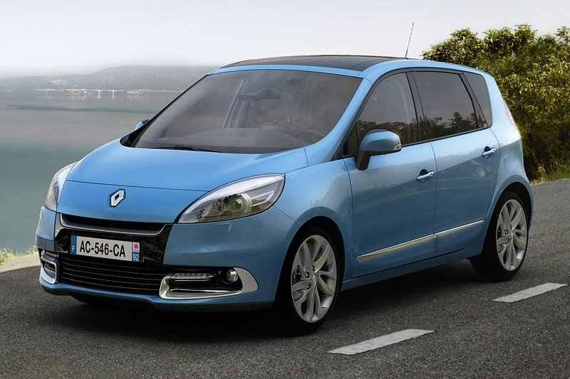 Facelift Renault (Grand) Scénic