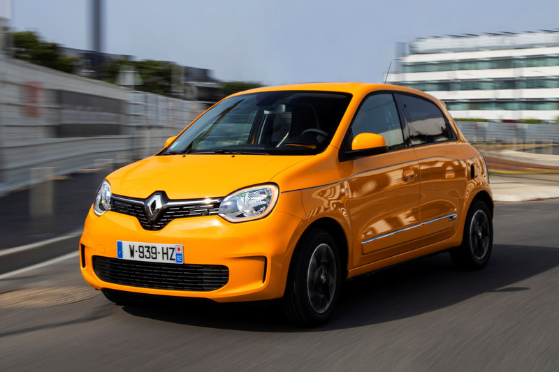 Renault Twingo private lease voordeel
