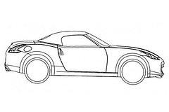 Afbeelding Kleurplaat Raceauto Tekeningen Nissan 370z Roadster Gelekt Autonieuws