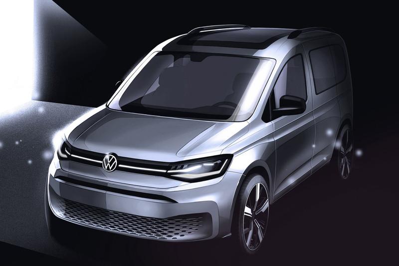 Nieuwe Volkswagen Caddy wordt eind februari onthuld