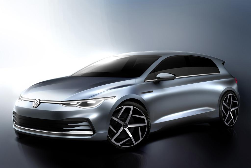 Nieuwe Volkswagen Golf wordt op 24 oktober onthuld