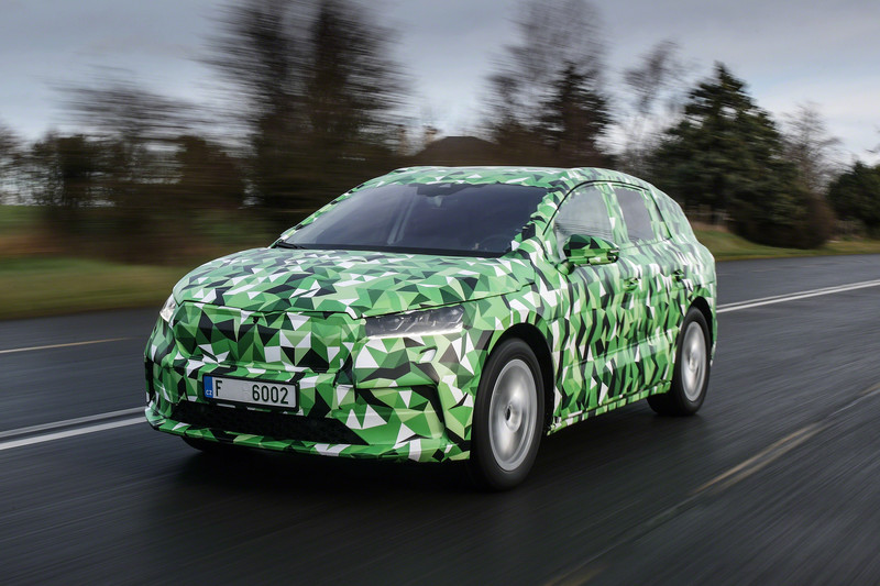 Specificaties Skoda Enyaq, de elektrische SUV