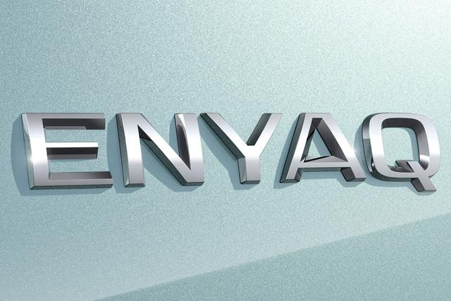 Skoda Enyaq logo