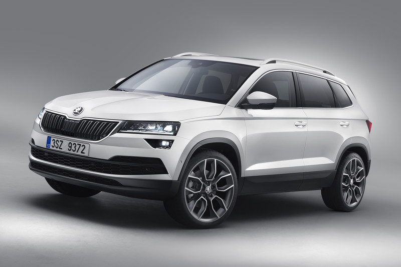 Hier is de Skoda Karoq!