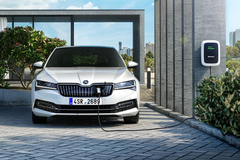 Superb iV is Skoda's eerste plug-in hybride
