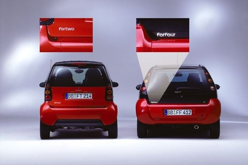 Smart city-coupé wordt smart fortwo