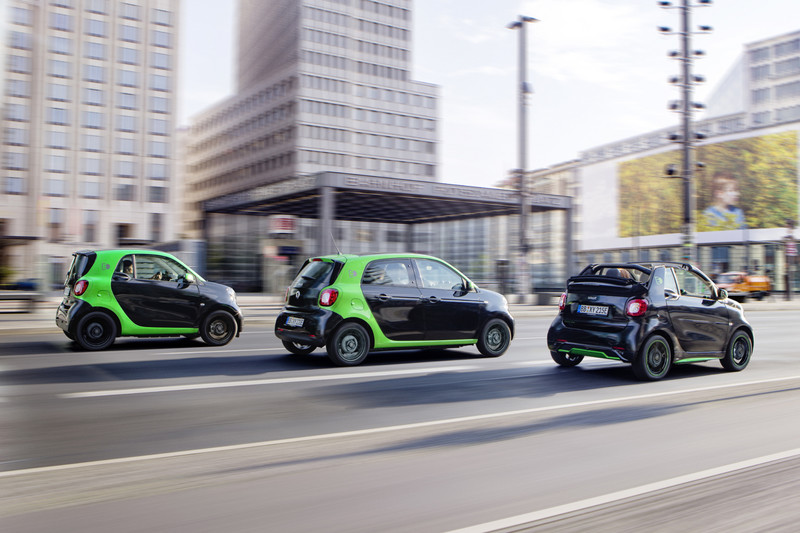 Smart Electric Drive nu ook als Forfour