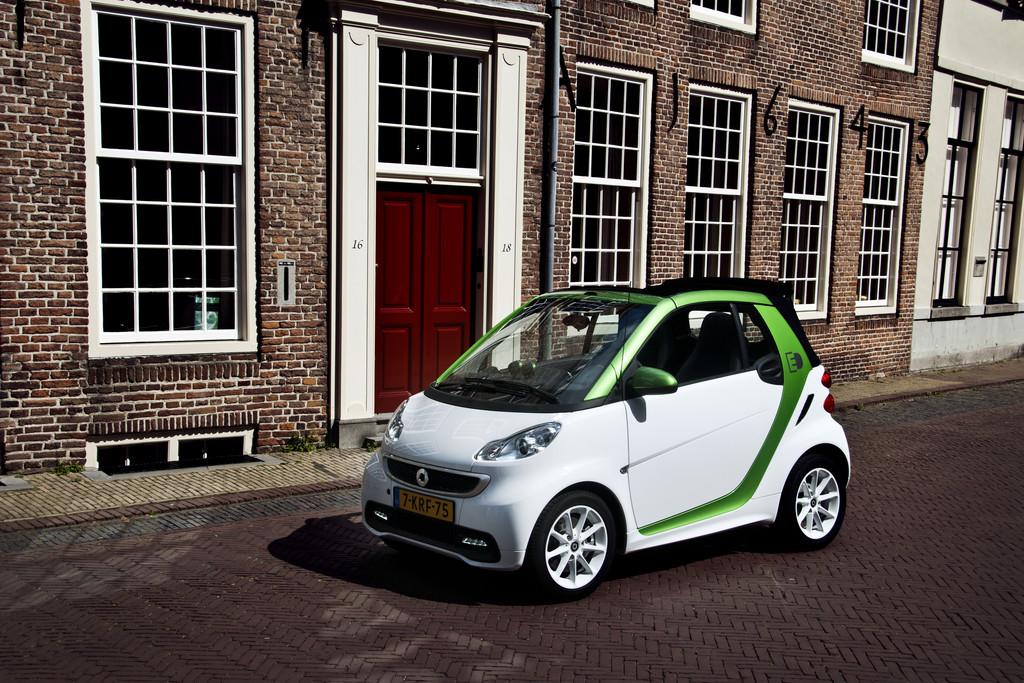 Smart Fortwo Cabrio Electric Drive Fotoreportages Autokopen Nl