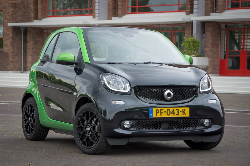 Smart Fortwo Electric Drive: die wil je niet delen