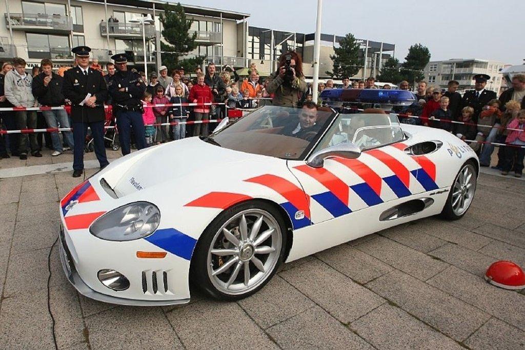 Spyker Levert Politieauto Autonieuws Autokopen Nl
