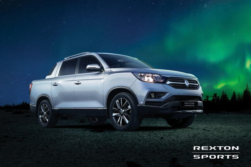 SsangYong Rexton Sports is pick-up