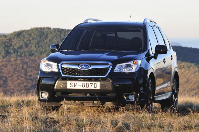 Subaru Veiligheidssysteem Baant Pad Voor Zelfrijdende Auto