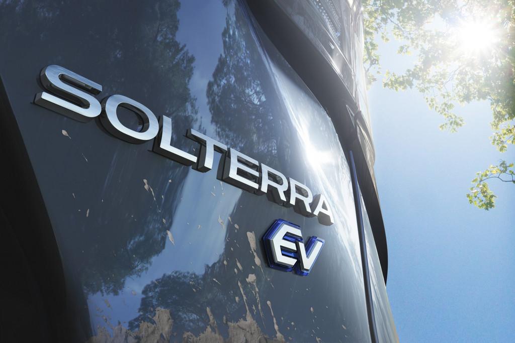 Subaru Solterra een volledig elektrische SUV