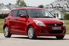 Suzuki Swift 2010 schuinvoor