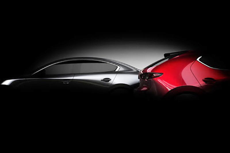 Nieuwe Mazda 3 verschijnt eind november