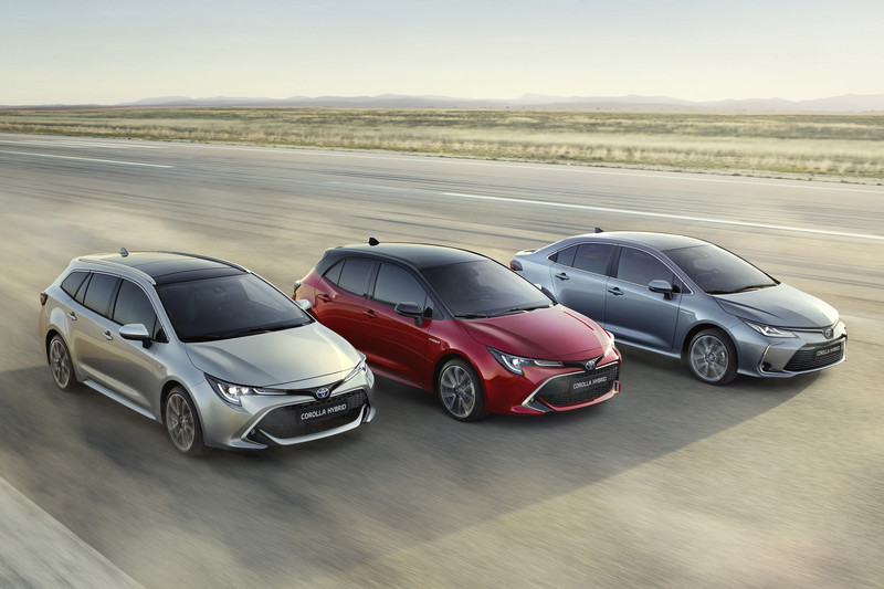 Toyota Corolla, Rav4 en C-HR Business Editions
