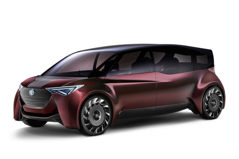 Toyota Fine-Comfort Ride Concept is een waterstofauto