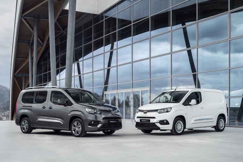 Toyota breidt aanbod bedrijfswagens uit met Proace City