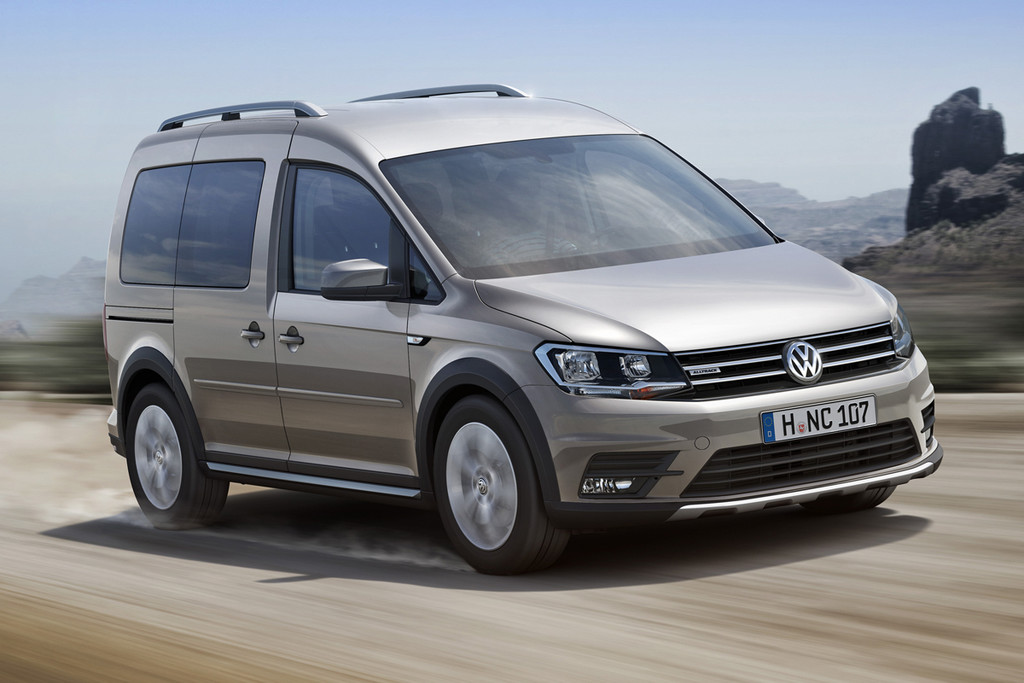 volkswagen caddy alltrack vervanger cross caddy autonieuws. Black Bedroom Furniture Sets. Home Design Ideas