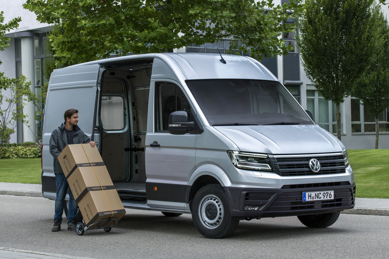 Bijzonder veel Volkswagen Crafter optievoordeel