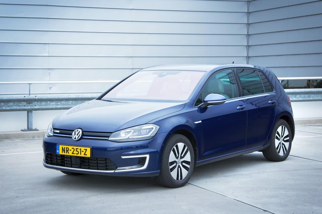Volkswagen E Golf >> Test: Volkswagen e-Golf 2017 [autotest + foto's ...